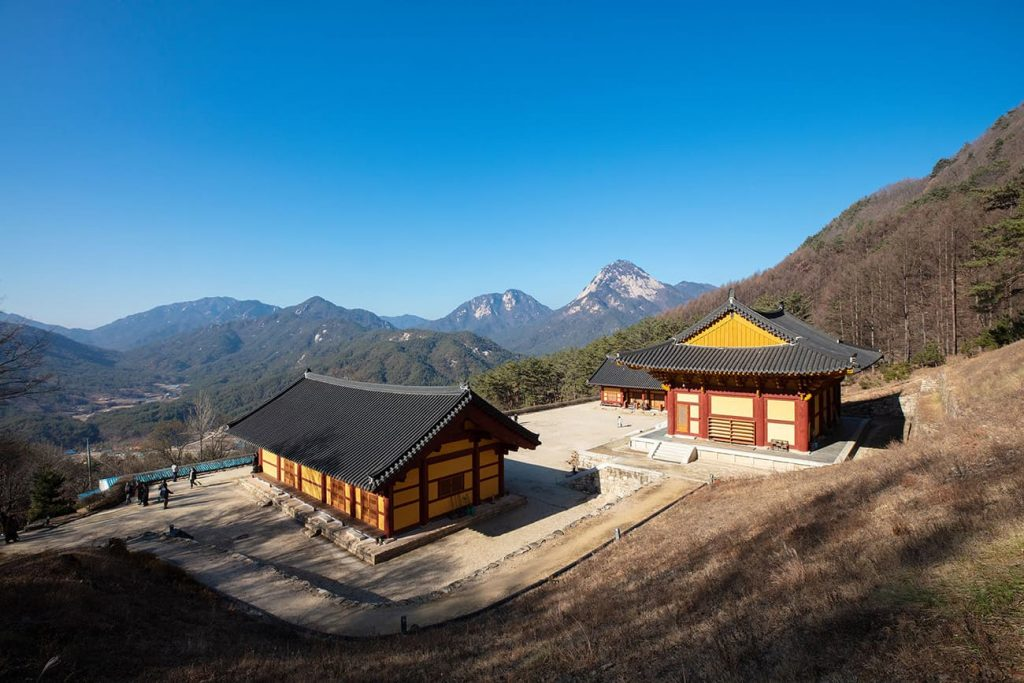 temple stay by jungto society, South Korea