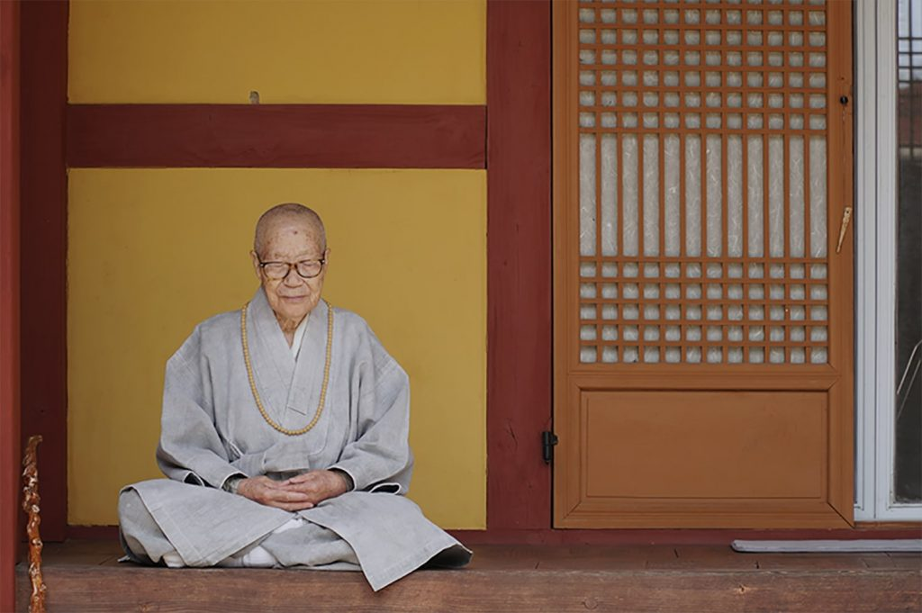 meditation in temple