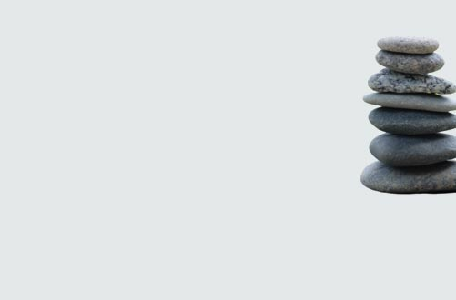 meditation and stability stones